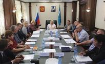 Заседание рабочей группы по охране труда